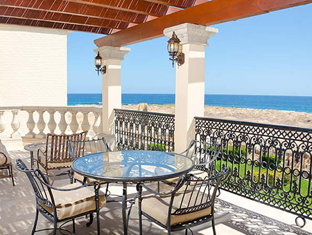 Second Floor Ocean View Outdoor Terrace